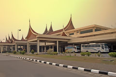 Minangkabau International Airport Stock Photo