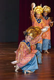 Minangkabau Traditional Dance Stock Image