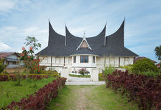 Minangkabau traditional house Stock Images