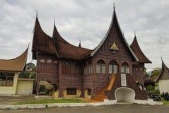 Minangkabau traditional house Royalty Free Stock Image