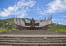 Minangkabaupaleis royalty-vrije stock fotografie