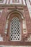 minar纪念碑qutab 免版税图库摄影