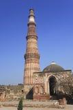 minar Delhi qutb Fotografia Stock