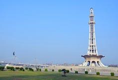 Minar-e-Pakistan stockfotografie