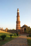 minar qutab του Δελχί Ινδία Στοκ φωτογραφία με δικαίωμα ελεύθερης χρήσης