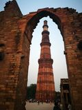 minar qutab obrazy royalty free