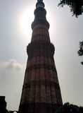 Minar Qutab Royalty-vrije Stock Foto