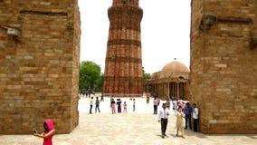 minar qutab Arkivbild