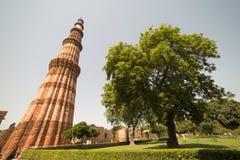 minar qutub του Δελχί Ινδία Στοκ Εικόνα