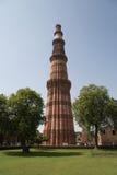 minar qutub του Δελχί Ινδία Στοκ Φωτογραφία
