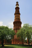 minar qutub Arkivbilder