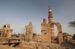 minar qutub Zdjęcie Royalty Free