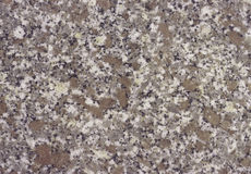 Minaral stone granite in brown and grey colors Stock Photo