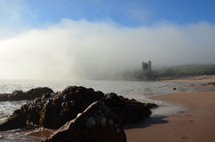 Minard castle Royalty Free Stock Photography