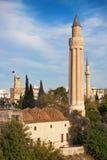 Minare di Antalya Yivli Fotografia Stock