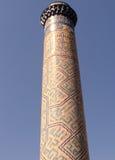Minaret 2007 de Samarkand Bibi-Khanim Photo stock