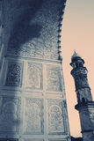Minaret. Of an ancient muslim mausoleum, India Stock Photography