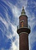 Minaret Stock Foto's