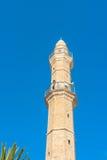 Minaret Arkivfoto