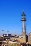 Minaret in aanbouw Royalty-vrije Stock Foto's