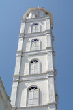 Minaret of The Abidin Mosque in Kuala Terengganu, Malaysia Royalty Free Stock Photo