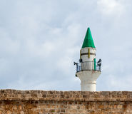 Minaret in Acre. Minaret in  old  Acre , Israel Royalty Free Stock Photography