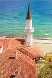 Minaret against the Sea Stock Photography