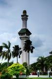 Minaret of Al Azim Mosque in Malacca, Malaysia Royalty Free Stock Photo