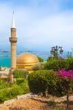 Minaret of Alaaddinoglu Mosque Stock Photos