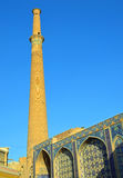 Minaret of the Ali Mosque Royalty Free Stock Photo
