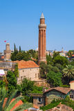Minaret in Antalya Royalty Free Stock Photos