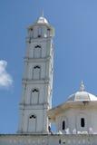 Minaret av Abidin Mosque i Kuala Terengganu, Malaysia Arkivfoton