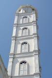 Minaret av Abidin Mosque i Kuala Terengganu, Malaysia Royaltyfri Foto