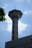 Minaret av Masjid Universiti Putra Malaysia på Serdang, Selangor, Malaysia Arkivfoton
