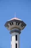 Minaret av Masjid Universiti Putra Malaysia på Serdang, Selangor, Malaysia Arkivbilder