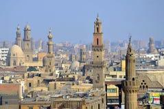 Minaret av moskéer Arkivfoto