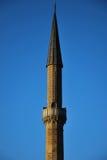Minaret av moskén arkivbilder