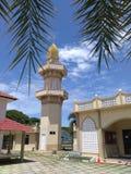 minaret av moskén i Kota Bharu Arkivfoto