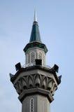 Minaret av Sultan Abdul Samad Mosque (KLIA-moskén) Royaltyfria Bilder