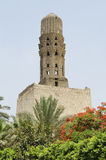 Minaret at bab al-futuh in cairo egypt Royalty Free Stock Images