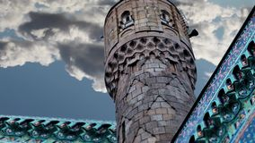 Minaret stock footage