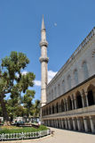 Minaret of the Blue Mosque. Istanbul. Stock Image