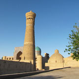 Minaret at Bukara Royalty Free Stock Photography