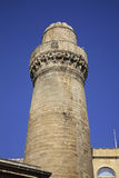 Minaret of Cuma mosque in Baku. Azerbaijan Stock Image