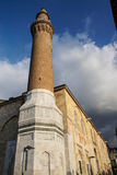 Minaret de brique d'Ulu Cami Photos libres de droits