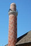 Minaret de briques Photos stock