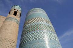 minaret de khiva Photo libre de droits