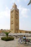 Minaret de la Koutoubia fotografía de archivo libre de regalías