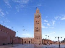 Minaret de la Koutoubia, Marrakesh, Marruecos foto de archivo