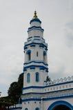 Minaret de Panglima Kinta Mosque dans Ipoh Perak, Malaisie Photographie stock libre de droits